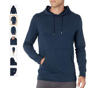*3/$55* Lightweight Jersey Pullover Hoodie Navy